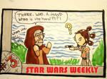 STAR WARS WEEKLY #3 by evangeline40003