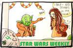 STAR WARS WEEKLY #4 by evangeline40003