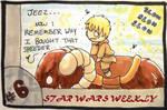 STAR WARS WEEKLY #6 by evangeline40003
