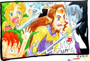 Zelda chaos art by evangeline40003