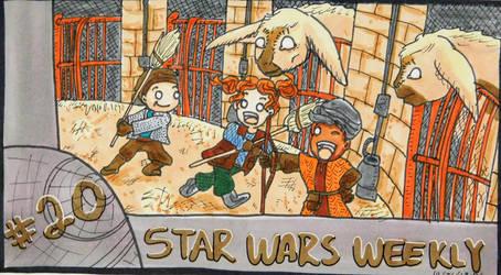 STAR WARS WEEKLY #20 by evangeline40003