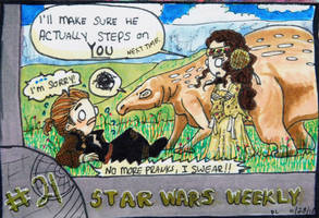 STAR WARS WEEKLY #21 by evangeline40003