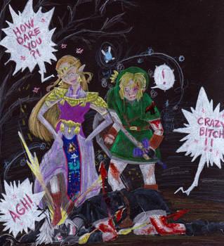 Don't involve Zelda by evangeline40003