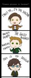 Common phrases in fandoms by Vivalski
