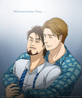 (COMMISSION #21) Welcome home Tony by Vivalski