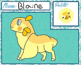 Blaine by Voidfur