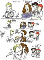 Enemies - Draco x Hermione by Pauhra