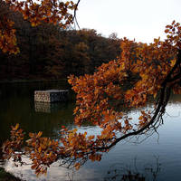 Maksimir: autumn lake by Ilharess