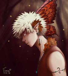 [Tribal AU] Fae Bakugou by fantasydreamtima