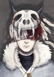 [Tribal AU] Angry Todoroki by fantasydreamtima
