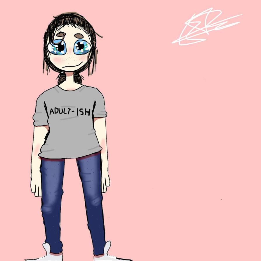 i tried digital again (this is me btw) by EGdragonfish01