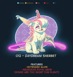 Closed - Daydream Sherbet by Paper-Rabbit