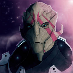 Vetra (no Visor) by Dragonborn91