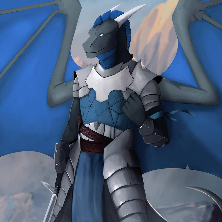 Blue Knight by Dragonborn91