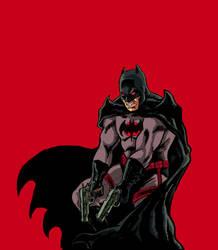 Flashpoint Batman (color) by kmillerillustration