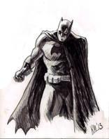 Dark Knight by kmillerillustration