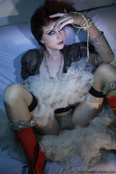 Chrisst - Cosplay Steampunk Bride Erotic by auxcentral