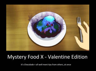 Mystery Food X - Valentine Edition by neogoki