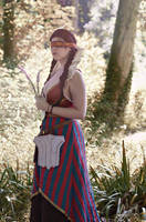 Philippa Eilhart (The Witcher 3) cosplay by YURK-K