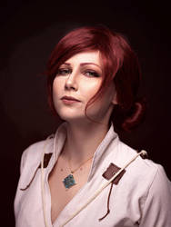 Triss portrait by YURK-K