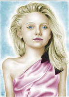 Dakota Fanning Colored by nikki13088