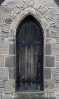 Gothic Door by NickiStock