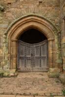 Castle Gates by NickiStock