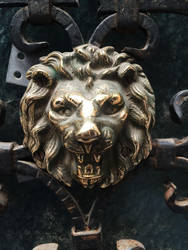 Venice door knocker by NickiStock