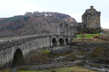 Eilean Donan Castle - Stock Image by NickiStock
