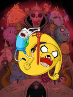 finn and jake by grizlyjerr
