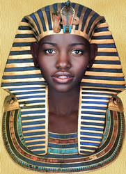 Portrait of a Pharaoh by TyrannoNinja