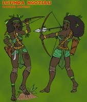 Luyinda Ngozulu by TyrannoNinja