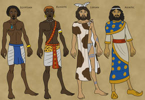 Egyptian Table of Nations by TyrannoNinja