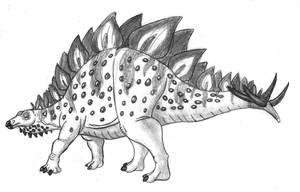 Stegosaurus Sketch by TyrannoNinja