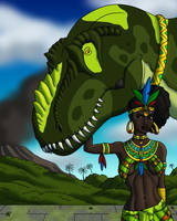 Jungle Empress by TyrannoNinja