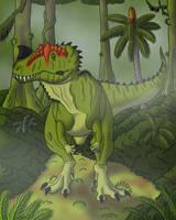 Ceratosaurus by TyrannoNinja