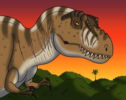 Rexy from Jurassic Park by TyrannoNinja