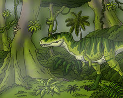 Teenage Tyrannosaur by TyrannoNinja