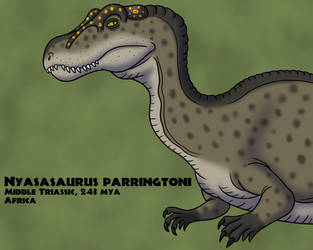Nyasasaurus by TyrannoNinja