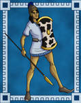 Trojan Warrior by TyrannoNinja