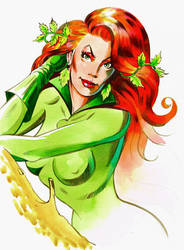 Poison Ivy - color sketch by FnkNY