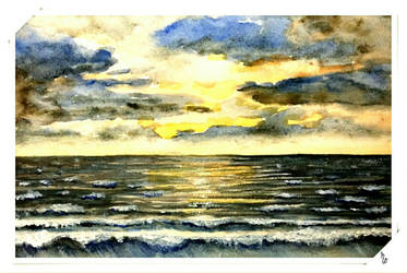 Nordsee by RosePaddington