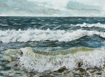 Baltic Sea by RosePaddington
