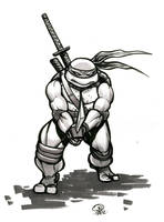 TMNT Leonardo by Snigom