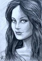 Sketch of a Lady by Snigom