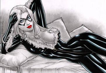 Rubismar: Black Cat by comiconart