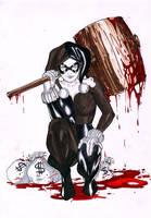 Iago Maia: Harley Quinn by comiconart