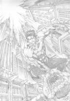 Ediano Silva: Nightwing by comiconart