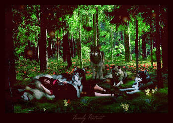 Family Portrait by Silverwolf90