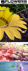 Flowers Photoshop Actions by Grugle